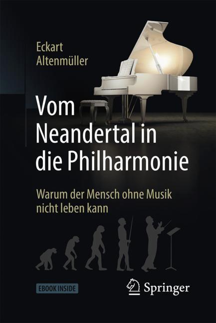 Cover of 'Vom Neandertal in die Philharmonie'