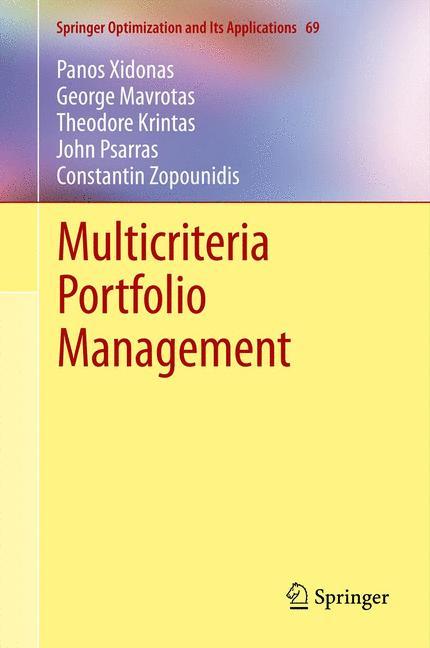 Cover of 'Multicriteria Portfolio Management'