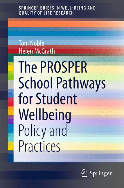 Cover of 'The PROSPER School Pathways for Student Wellbeing'