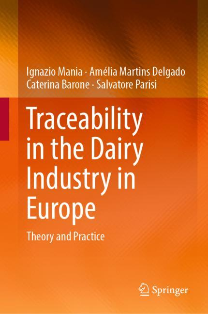 Cover of 'Traceability in the Dairy Industry in Europe'