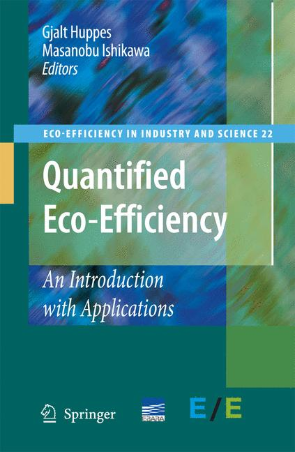 Cover of 'Quantified eco-efficiency'