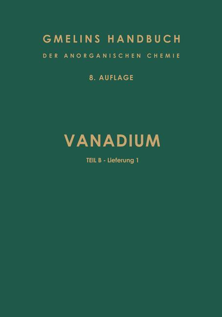 Cover of 'Vanadium'