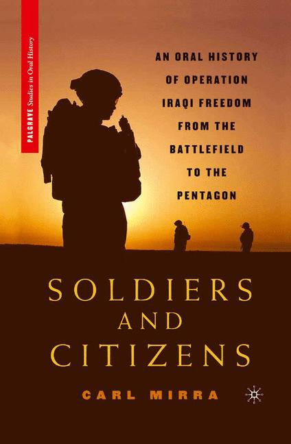 Cover of 'Soldiers and Citizens'