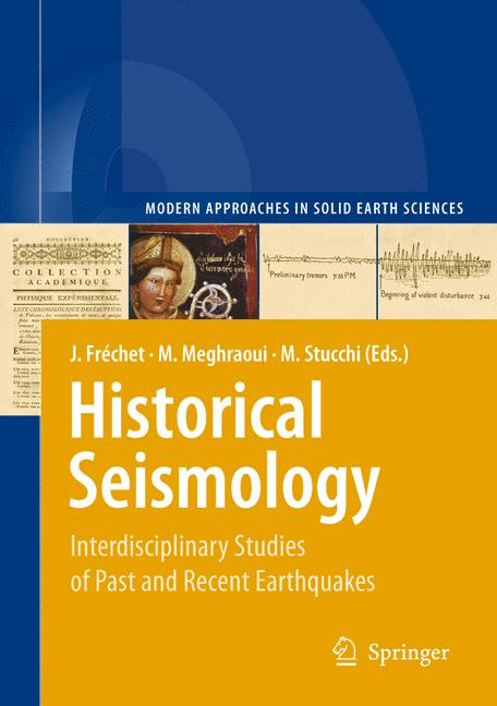 Cover of 'Historical Seismology'