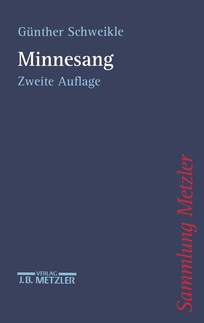 Cover of 'Minnesang'