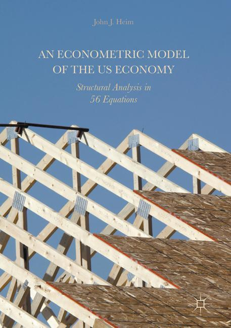 Cover of 'An Econometric Model of the US Economy'