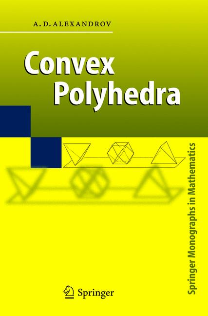 Cover of 'Convex Polyhedra'