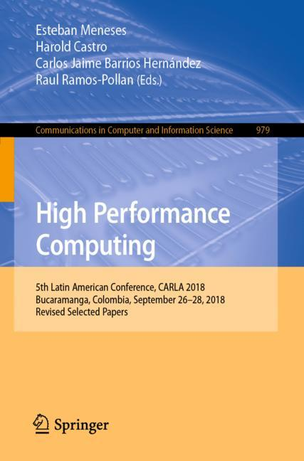 Cover of 'High Performance Computing'