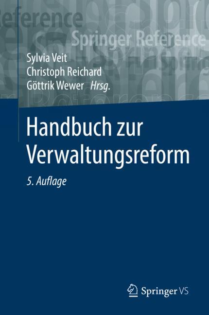 Cover of 'Handbuch zur Verwaltungsreform'
