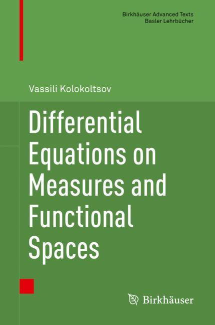 Cover of 'Differential Equations on Measures and Functional Spaces'