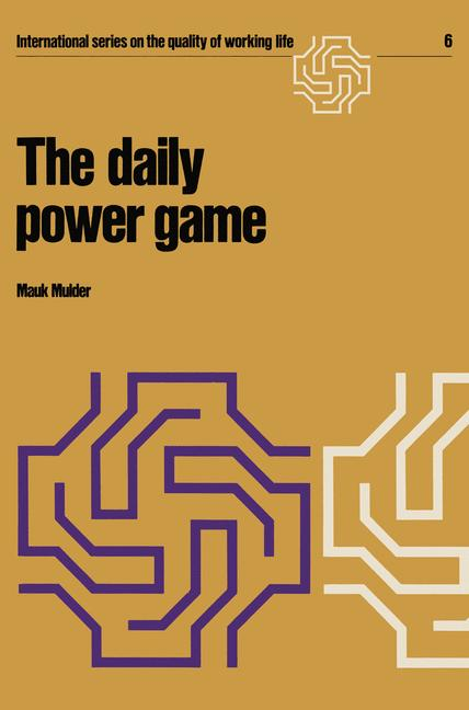 Cover of 'The daily power game'