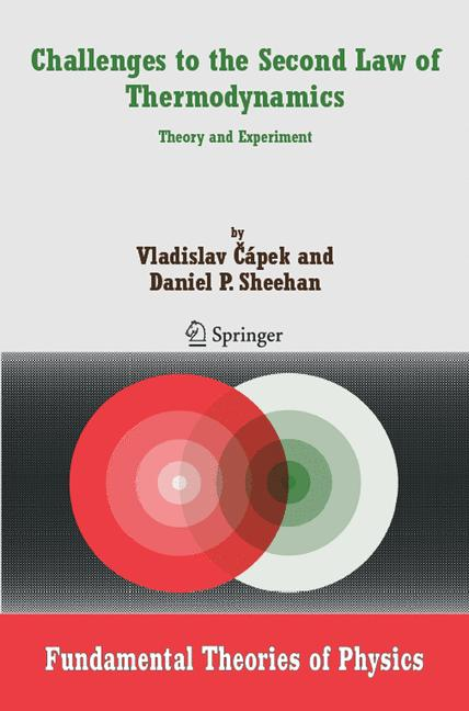 Cover of 'Challenges to the Second Law of Thermodynamics'