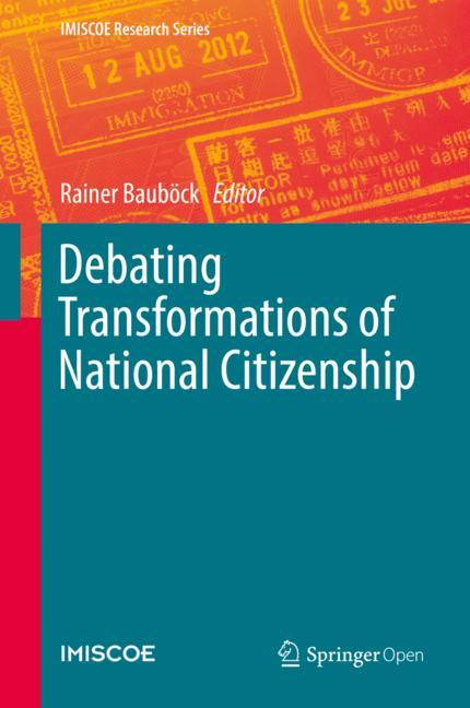 Cover of 'Debating Transformations of National Citizenship'