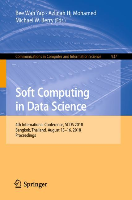Cover of 'Soft Computing in Data Science'