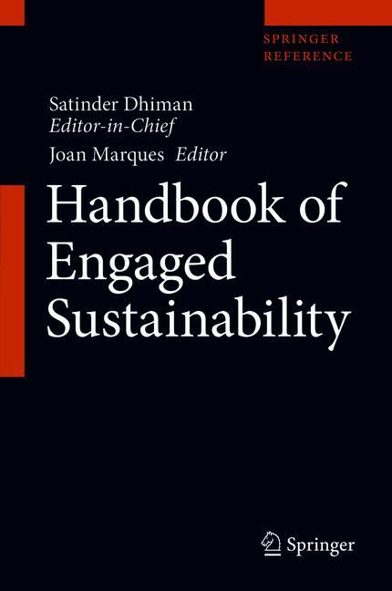 Cover of 'Handbook of Engaged Sustainability'