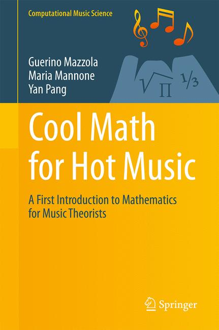 Cover of 'Cool Math for Hot Music'