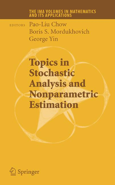 Cover of 'Topics in Stochastic Analysis and Nonparametric Estimation'