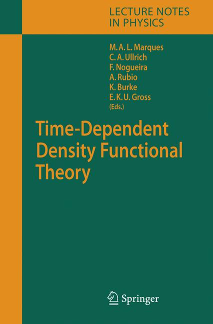 Cover of 'Time-Dependent Density Functional Theory'