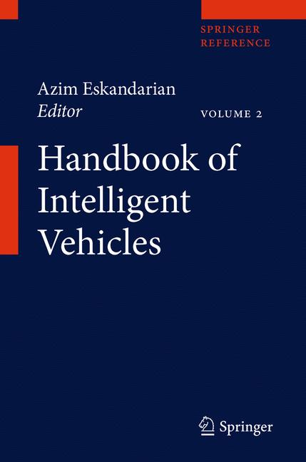 Cover of 'Handbook of Intelligent Vehicles'