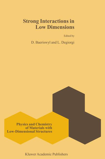 Cover of 'Strong interactions in low dimensions'