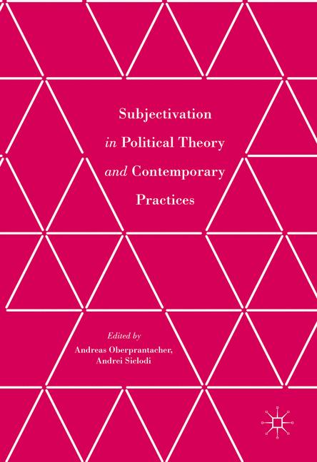 Cover of 'Subjectivation in Political Theory and Contemporary Practices'