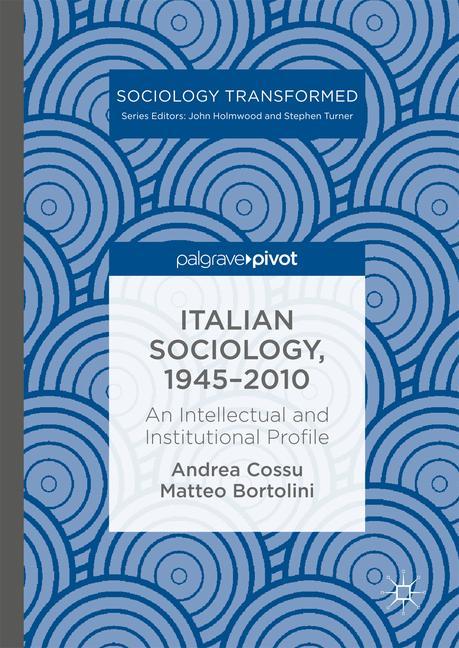 Cover of 'Italian Sociology,1945–2010'