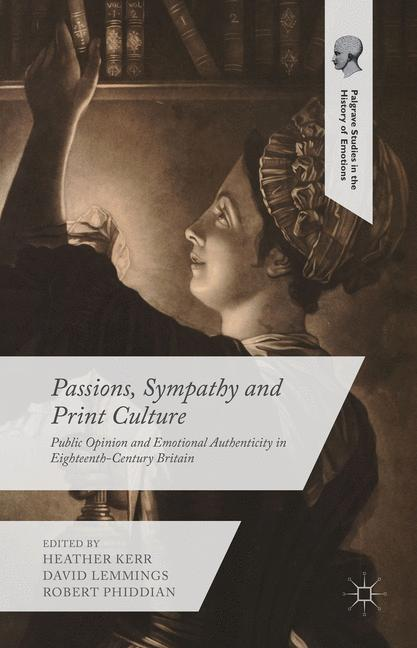 Cover of 'Passions, sympathy and print culture'