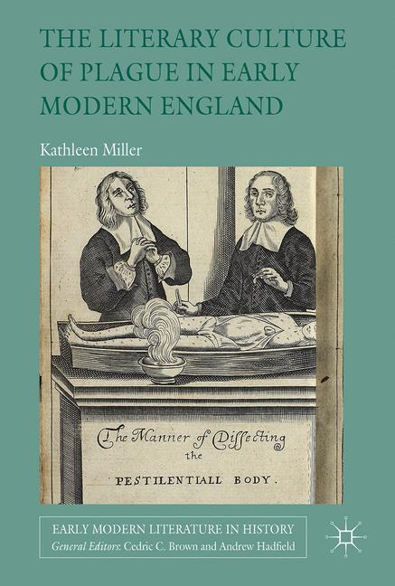 Cover of 'The Literary Culture of Plague in Early Modern England'