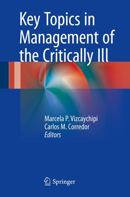 Cover of 'Key Topics in Management of the Critically Ill'