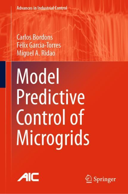 Cover of 'Model Predictive Control of Microgrids'