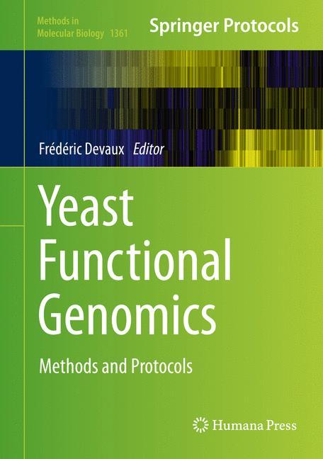 Cover of 'Yeast Functional Genomics'