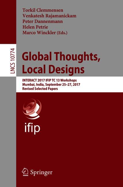 Cover of 'Global Thoughts, Local Designs'