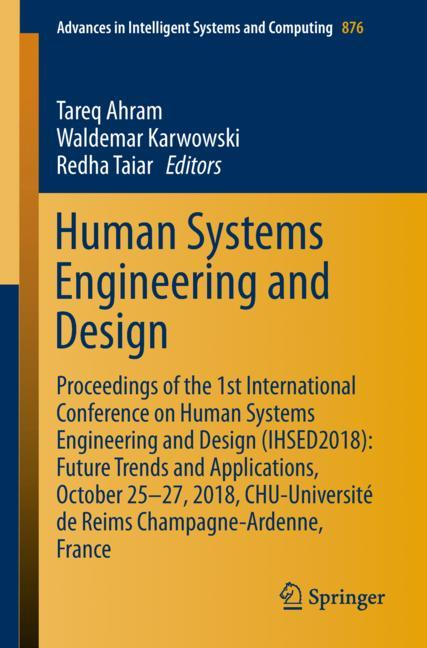Cover of 'Human Systems Engineering and Design'