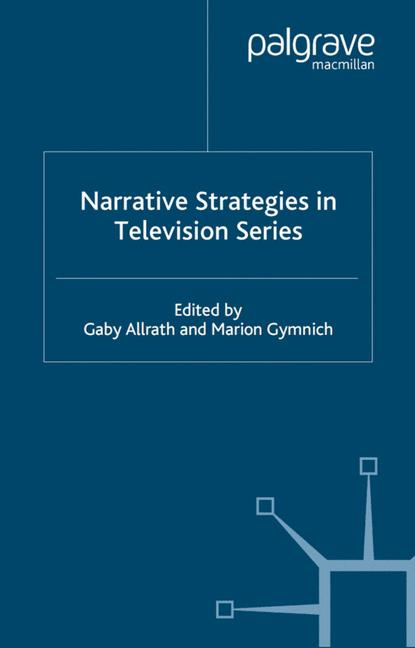 Cover of 'Narrative Strategies in Television Series'