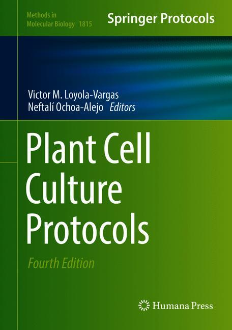 Cover of 'Plant Cell Culture Protocols'