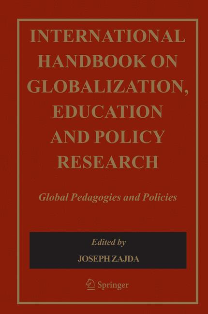 Cover of 'International Handbook on Globalisation, Education and Policy Research'