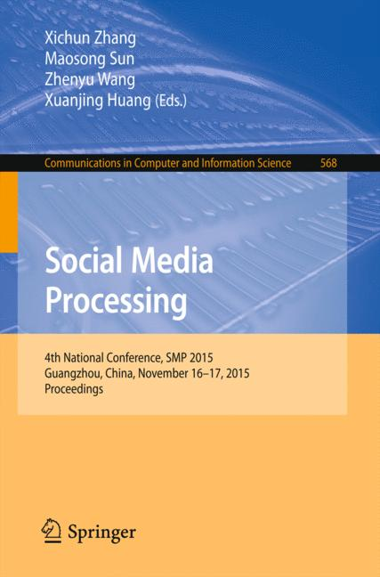 Cover of 'Social Media Processing'