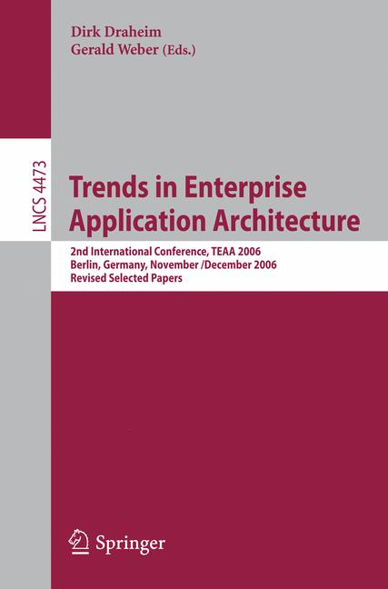 Cover of 'Trends in Enterprise Application Architecture'