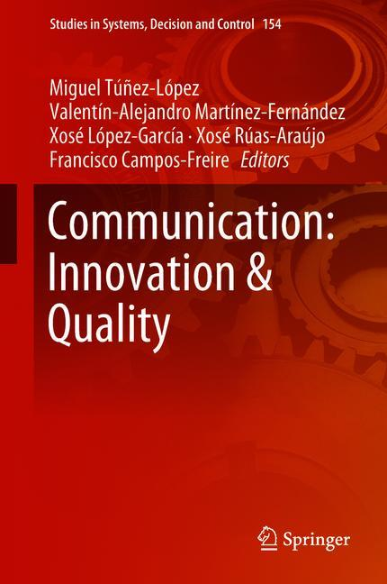 Cover of 'Communication: Innovation & Quality'