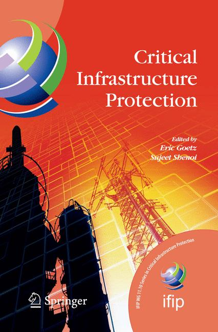 Cover of 'Critical Infrastructure Protection'