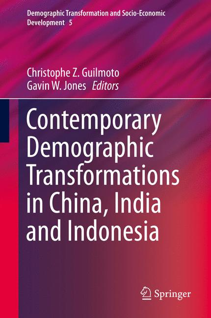 Cover of 'Contemporary Demographic Transformations in China, India and Indonesia'