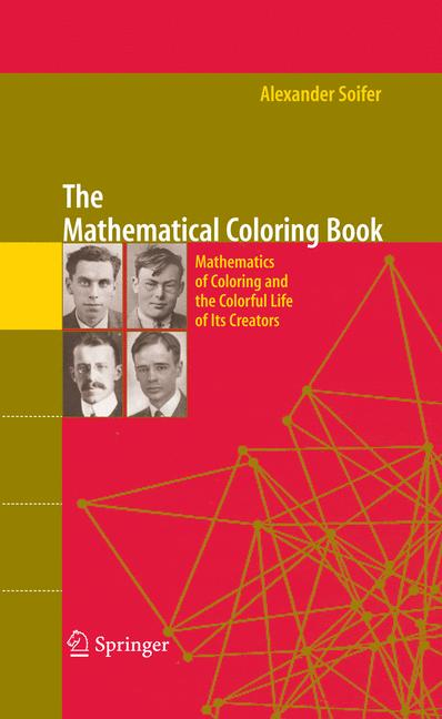Cover of 'The Mathematical Coloring Book'