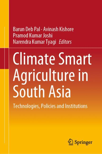 Cover of 'Climate Smart Agriculture in South Asia'