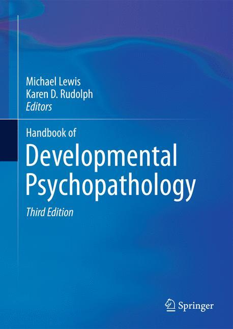 Cover of 'Handbook of Developmental Psychopathology'