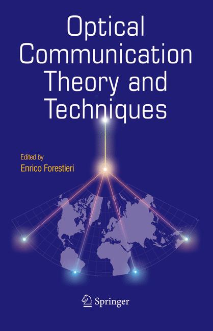 Cover of 'Optical Communication Theory and Techniques'