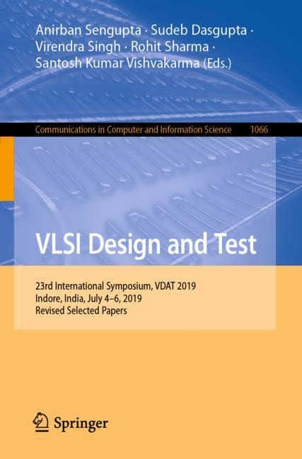 Cover of 'VLSI Design and Test'