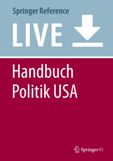 Cover of 'Handbuch Politik USA'