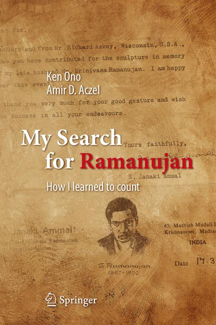 Cover of 'My Search for Ramanujan'