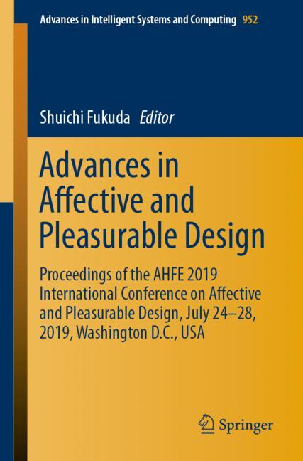 Cover of 'Advances in Affective and Pleasurable Design'