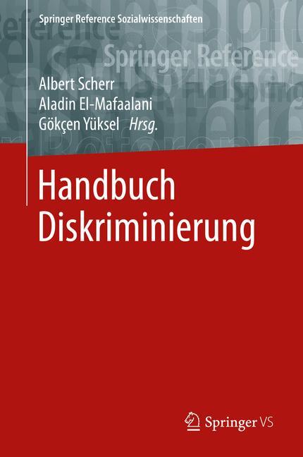 Cover of 'Handbuch Diskriminierung'